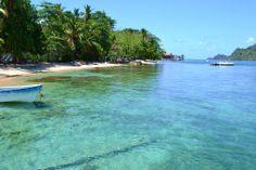 Isla Grande Panama beaches