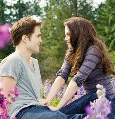 Par de enomorados que romântico  Eduard Cullen y bella