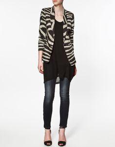 Zebra Blouse Zara 102