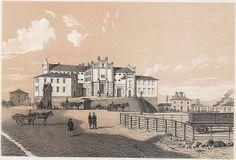 Länscellfängelset i Göteborg, 1857  Det rymde 115 celler, vaktrum, två sessionssalar för rättsskipning och tio promenadgårdar för fångarna.  Användes som fängelse fram till 1907.