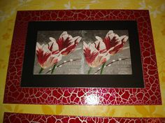 Cuadro en decoupage y marco craquelado Frame, Crafts, Home Decor, Boxes, Decorated Boxes, Craft, Decorative Wood Painting, Upcycling, Carnations