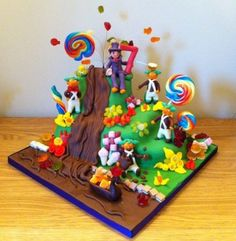 Willy+Wonka+Birthday+Cake+-+Cake+by+Rosy