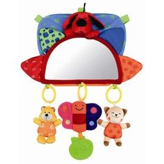 "Language skills; framework 4.3.A  ""where is the baby"" activity K's Kids Baby's Rear View Mirror Toy"
