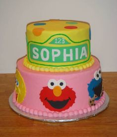 The Perfect Cake by Shirley - Sesame Street