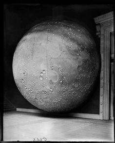 Model of the Moon , Field Columbian Museum, Chicago, 1898