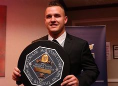 Congratulations are in order to Mike Trout on receiving the MVP Award. A well deserved award for Mike, looking sharp in custom #Elevee design.