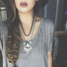 Art Deco Style Statement Necklace #ootd #fashion -  23,90 € @happinessboutique.com