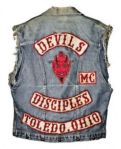 The Devils motorcycle gang vest.