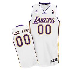 66bdad2e6e2 Los Angeles Lakers Revolution 30 personalized Custom Swingman Alternate  Jersey