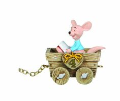 Roo may be small, but he brings big wishes to the new 4-year-old. In his little wooden wagon, he connects to the other hunny of a day figurines