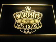 Murphy's Irish Stout Logo Beer Bar Pub Store Neon Light Sign Neon W4201