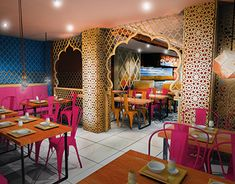 Concept for Indian Restaurant in London ~ Great pin! For Oahu architectural design visit http://ownerbuiltdesign.com