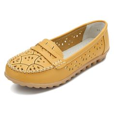 Women Chic Shoes Flower Hollow Out Loafers Soft Sole Leather Flats  Worldwide delivery. Original best quality product for 70% of it's real price. Hurry up, buying it is extra profitable, because we have good production sources. 1 day products dispatch from warehouse. Fast & reliable...