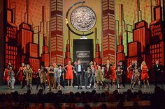 Host Neil Patrick Harris is joined by the kids from Annie and A Christmas Story to open the 2013 Tony Awards ceremony. Neil Patrick Harris, Radio City Music Hall, Stage Set, A Christmas Story, Musical Theatre, Set Design, Building Design, Annie, Broadway
