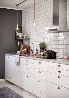 Kitchen backsplash with dark cabinets glass vent hood 21 Trendy ideas
