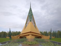 Unbuilt Frank Lloyd Wright chapel comes to life in new visualizations - Curbedclockmenumore-arrow : Due to a massive misunderstanding, the 1958-designed Trinity Chapel was never built