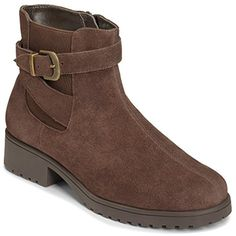 Notebook Women Round Toe Suede Ankle Boot ** To view further for this item, visit the image link. (This is an affiliate link) #AnkleBootie