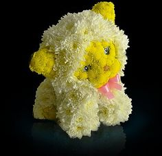 Teddy Bear Made of Flowers | World's Most Amazing Things