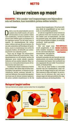 Vakantietrends in Elsevier