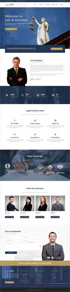 LAWE is a clean, modern, and fully responsive #Muse Template for #Lawyer, Attorney or #Law firms websites download now➩ https://themeforest.net/item/lawe-lawyer-amp-attorney-muse-template/19228156?ref=Datasata