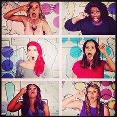 Girl Code: mascara faces