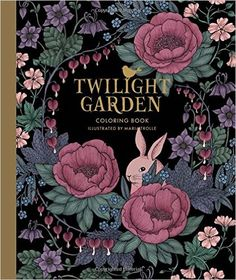 Amazon Twilight Garden Coloring Book Published In Sweden As