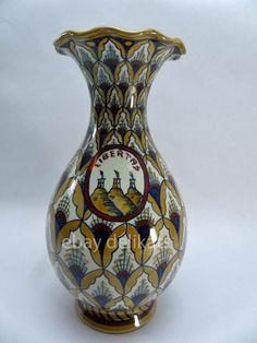 San Marino vase by Cellarosi