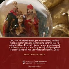 Mass reflection for the Solemnity of the #Epiphany of the Lord http://on.fb.me/1YE7iVF  #prayer #reflection