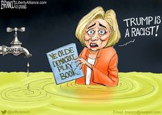 Hillary's Racist Charge against Donald Trump is an old democrat diversion tactic…