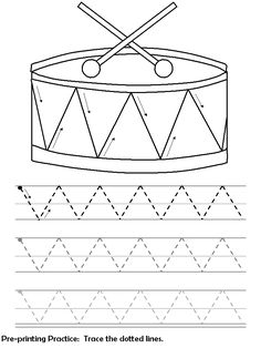 this pre print zigzag lines is a free image for you to print out check out our free printable preschool lessons worksheets today and get to customizing