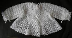 mp.croche: casaquinhos de bebê com receita