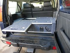 Discovery 1 and 2 Twin Pull Out Drawer System | Drawer Systems - 4X4 Accessories | Direct4X4