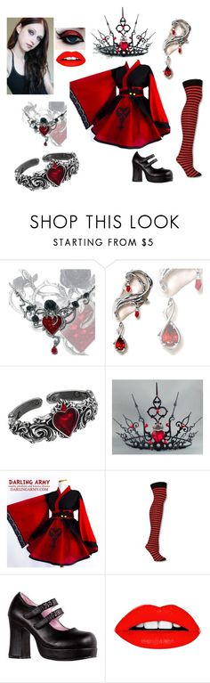"""""""Chris - Queen of Hearts"""" by wraithmastah ❤ liked on Polyvore featuring Ultimate"""