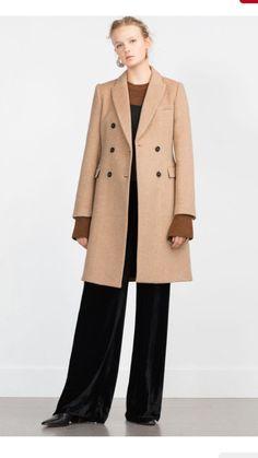 Zara cinnamon coat