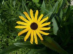 Rudbéckia   Black-eyed Susan  Yellow flower  от ElenaGift на Etsy