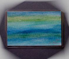 Kunstgalerie Winkler Acrylbilder Taschenkunst # (23) Malerei Unikat Neu Original
