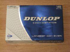 New Dunlop DDH Distance Golf Balls 18 Count Accuracy & Distance Longest DDH Ever #Dunlop #golf