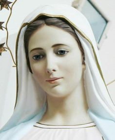 Our Lady of Medjugorje. Images Of Christ, Images Of Mary, Religious Images, Blessed Mother Mary, Blessed Virgin Mary, Jesus Mother, Madonna, Our Lady Of Medjugorje, Queen Of Heaven