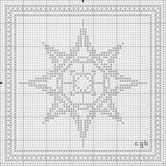 Free Star One Cross Stitch Pattern: Free Star Two Cross Stitch Pattern