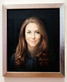 The First Official Portrait of The Duchess of Cambridge, Catherine Middleton | #UK
