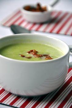 Zöldborsó-krémleves recept. Pudding, Desserts, Recipes, Food, Tailgate Desserts, Deserts, Custard Pudding, Essen, Postres