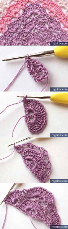 MyPicot | Free crochet patterns shawl