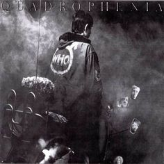 """""""Quadrophenia"""" - The Who (1973) designed and photographed by Graham Hughes."""