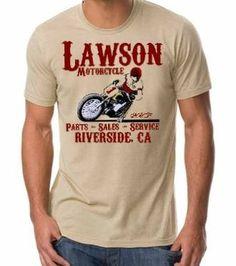 Old Lawson Motorcycle tee