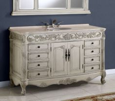 50 Inch Double Sink Bath Vanity | Ica Furniture Products | Pinterest |  Marbles, Bathroom Vanities And Double Sinks