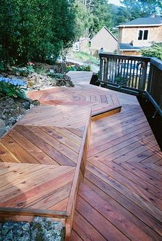 Wood Work by Helen Kirby of Kirby Designs Bamboo Decking, Dundee, Backyard Ideas, Pallet, Gazebo, Landscapes, Woodworking, Outdoors, Cabin