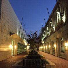 A walk between the #agganisarena and #studentvillage at #bostonuniversity #bu #boston by jglmac