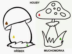 Pro Štípu: Období PODZIM Autumn Activities For Kids, Fall Crafts, November, Snoopy, School, Pattern, Painting, Fictional Characters, Shapes