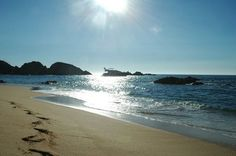 Mayto Beach, Jalisco. An hour and a half drive from Puerto Vallarta.... a large expanse of unspoiled beach!