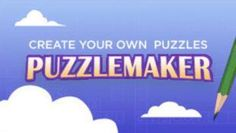 This is what I use to create puzzles for classroom use! Free!
